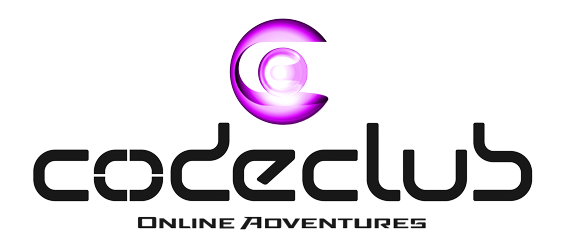 Code Club Logo with magenta ball